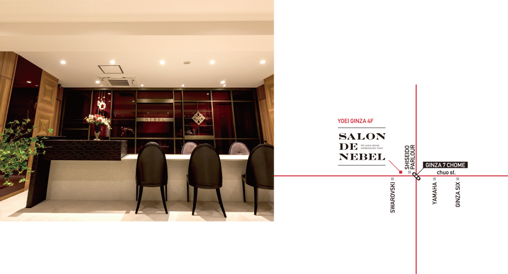 SALON de NEBEL Choose your ideal from a sea of options.