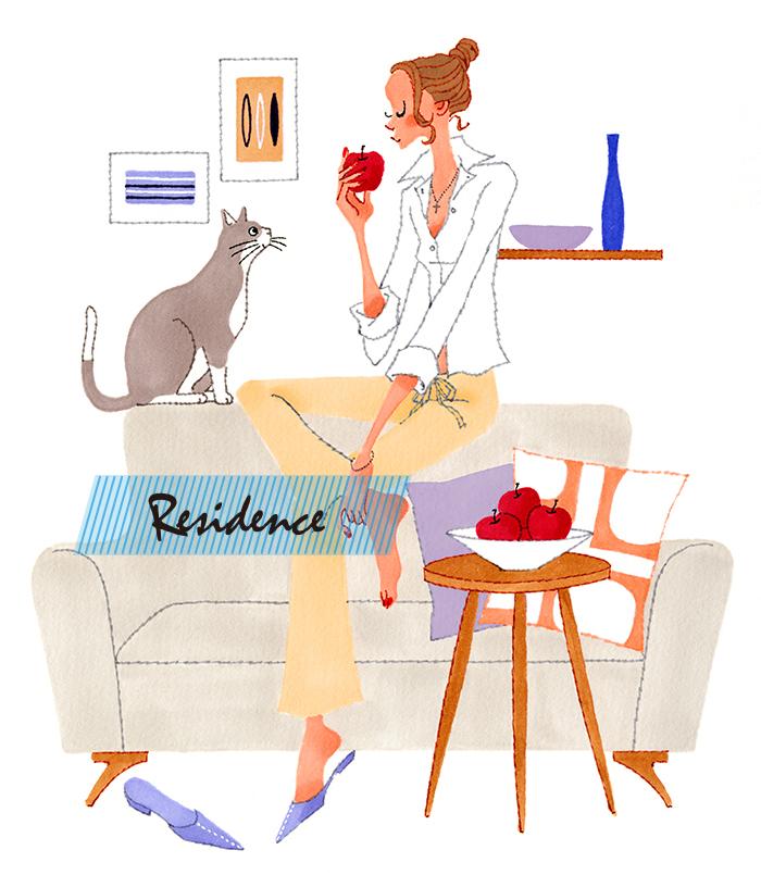 猫と暮らす。<br>大好きな家で暮らす。